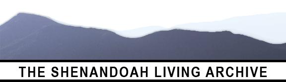 Shenandoah Living Archive Logo
